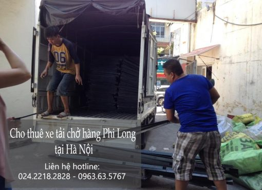 Dịch vụ chở hàng thuê tại phố Trấn Vũ