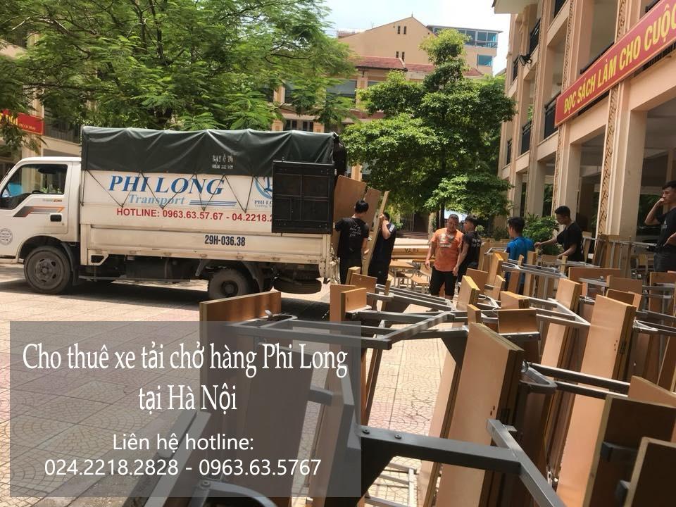 Dịch vụ chở hàng thuê tại phố Tân Ấp