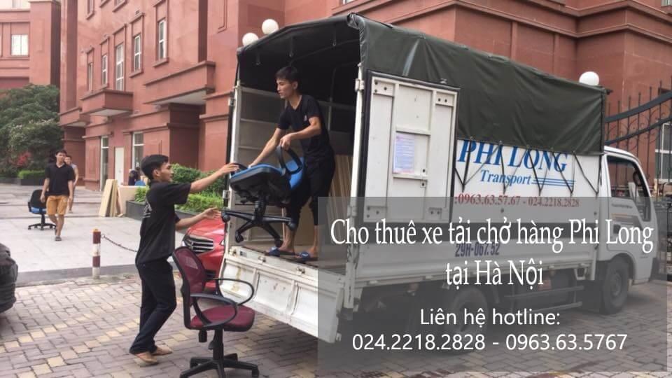 Dịch vụ chở hàng thuê tại phố Châu Long