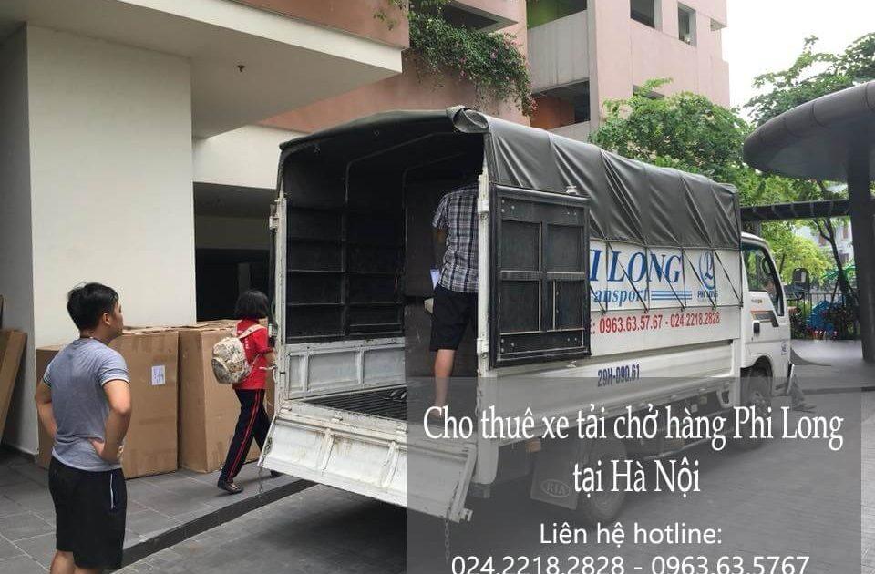 Dịch vụ chở hàng thuê tại phố Hàng Thùng