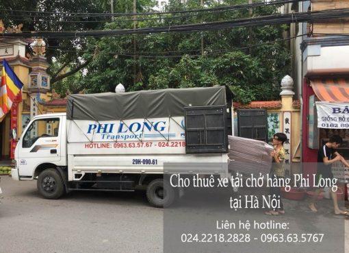 Dịch vụ chở hàng thuê tại phố Hạ Đình