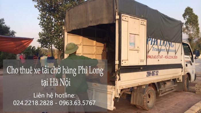 Dịch vụ chở hàng thuê tại phố Giang Biên
