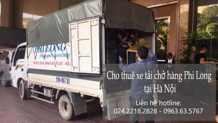 Dịch vụ chở hàng thuê tại phố Đội Nhân