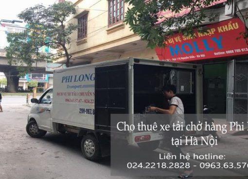 Dịch vụ chở hàng thuê tại phố Ấu Triệu