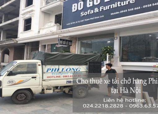 Dịch vụ chở hàng thuê tại phố Đặng Tiến Công