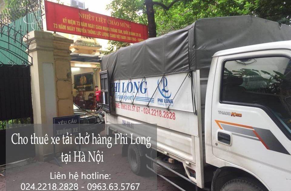 Dịch vụ chở hàng thuê xe tải tại phường Giáp Bát