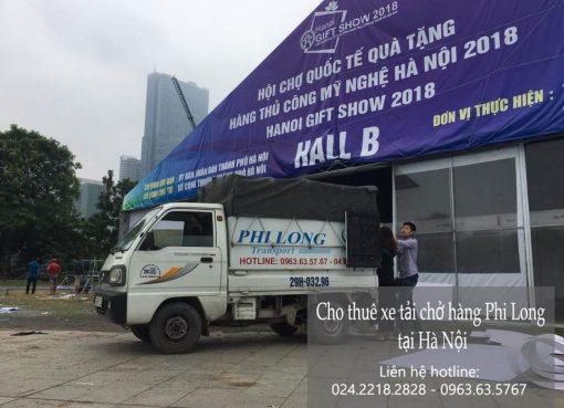Dịch vụ chở hàng thuê tại phố Hoa Bằng