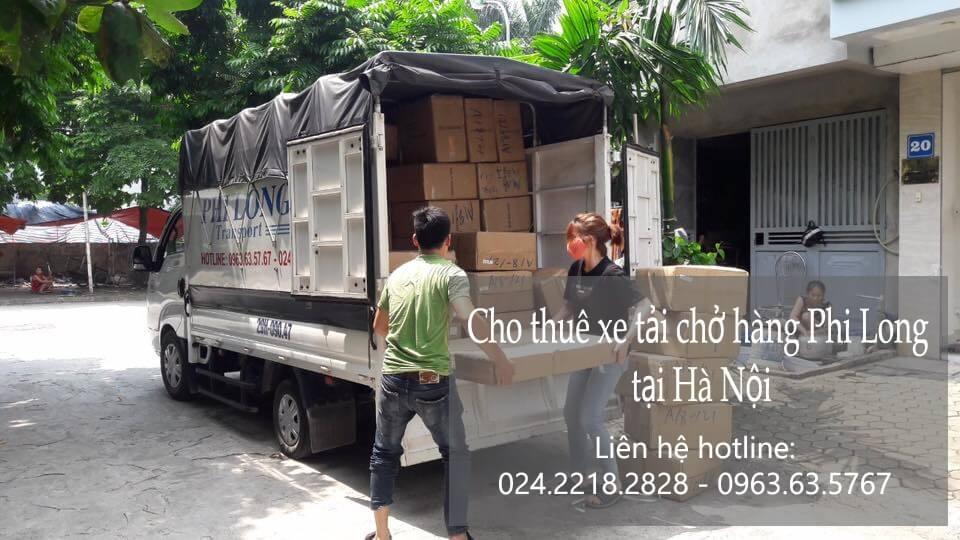 Dịch vụ chở hàng thuê tại phố Đoàn Thị Điểm