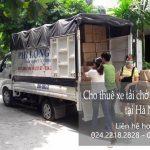 Dịch vụ chở hàng thuê tại phố Cầu Bích