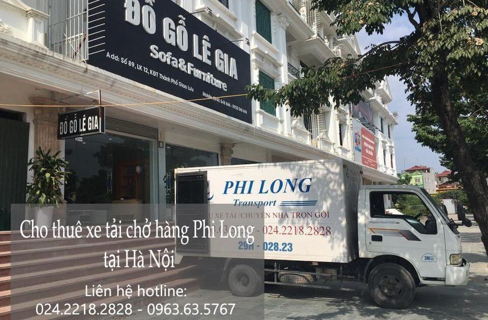 Dịch vụ chở hàng thuê tại phố Hoa Lâm