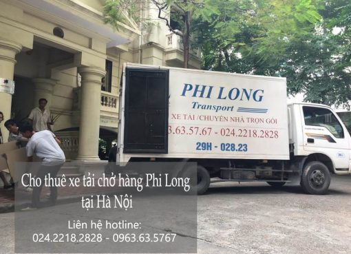 Dịch vụ chở hàng thuê tại phố Gia Ngư