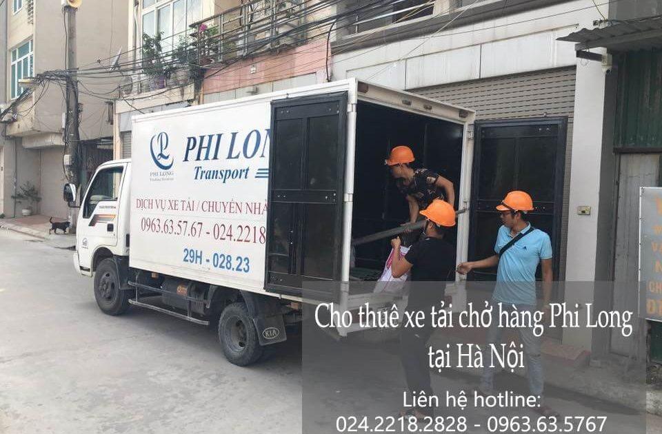 Dịch vụ chở hàng thuê tại phố Đội Cấn