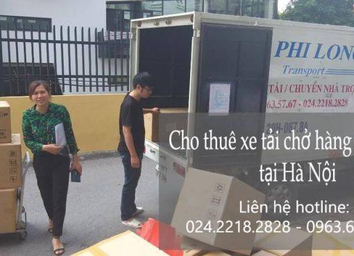 Dịch vụ chở hàng thuê tại phố Nguyễn Khoái