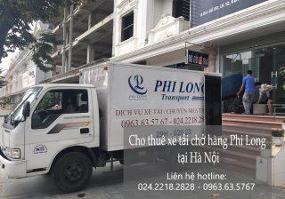 Dịch vụ chở hàng thuê tại phố Liễu Giai