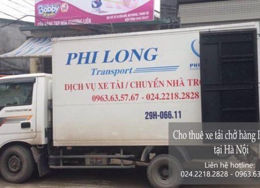 Dịch vụ chở hàng thuê tại phố Đoàn Khuê