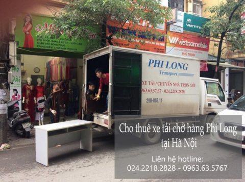 Dịch vụ chở hàng thuê tại phố Vũ Tông Phan