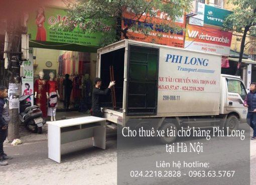 Dịch vụ chở hàng thuê tại phố Nguyễn Thị Định