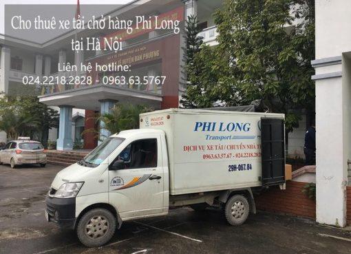 Dịch vụ chở hàng thuê tại phố Khuyến Lương