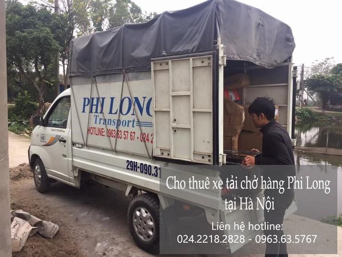 Dịch vụ cho thuê xe tải tại phố Ninh Hiệp