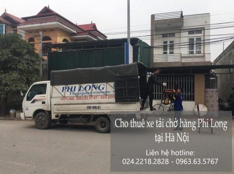 Dịch vụ chở hàng thuê tại phố Hồng Tiến