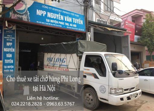 Dịch vụ chở hàng thuê tại đường Hà Huy Tập