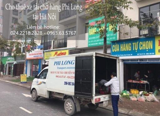 Dịch vụ cho thuê xe tải tại phố Kẻ Tạnh