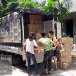Dịch vụ chở hàng thuê tại phố Nguyễn Văn Hưởng
