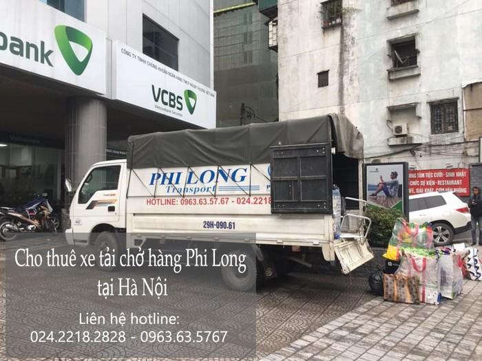 Dịch vụ chở hàng thuê tại phố Mạc Thái Tông