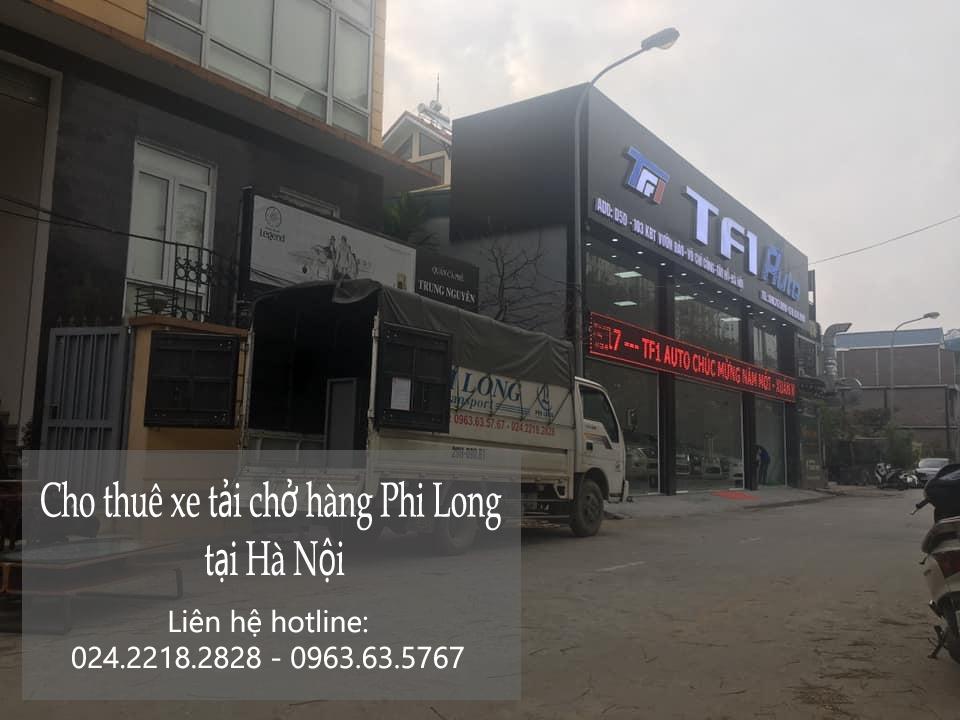 Dịch vụ chở hàng thuê tại phố Hoàng Công Chất