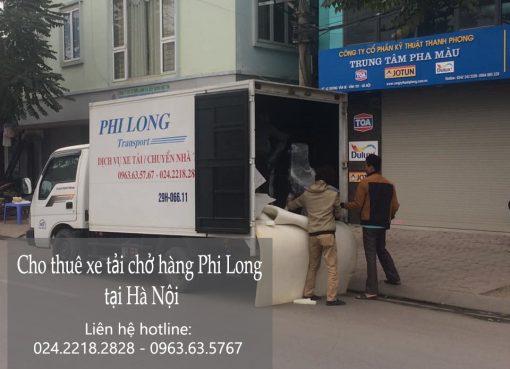 Dịch vụ chở hàng thuê tại phố Tôn Quang Phiệt