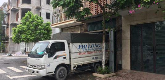Dịch vụ chở hàng thuê tại đường Đông Mỹ