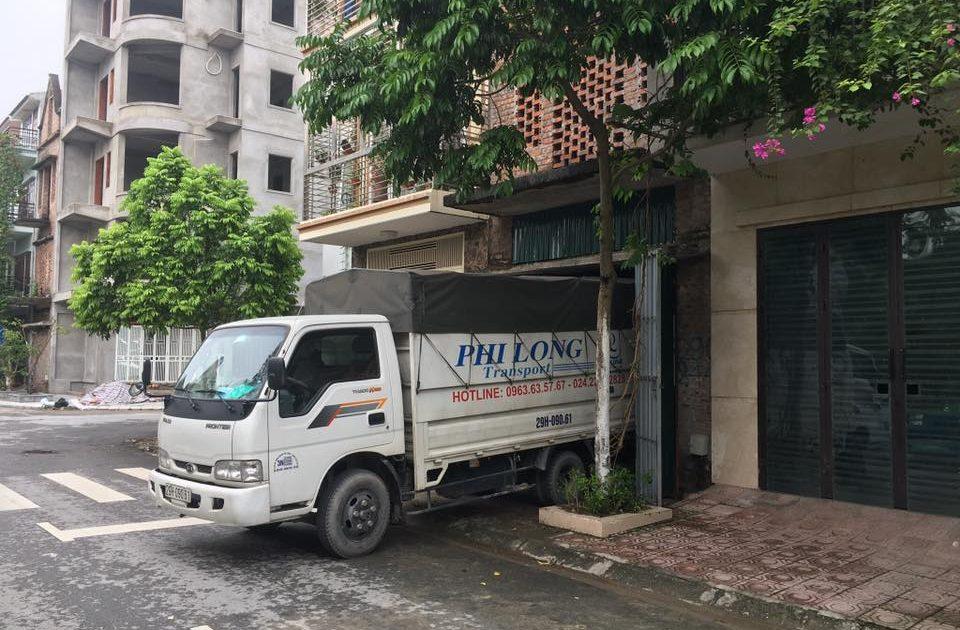 Dịch vụ chở hàng thuê phi Long tại phố Đại Linh