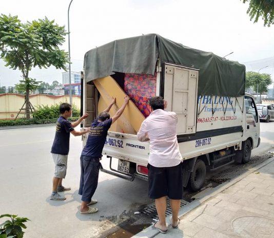 Dịch vụ chở hàng thuê tại phố Nguyễn Xuân Viết
