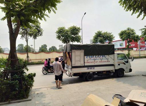 Dịch vụ chở hàng thuê tại phố Viên