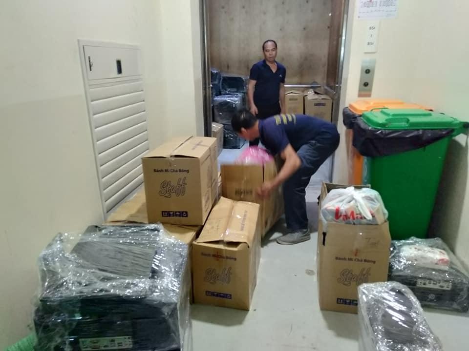 Dịch vụ chở hàng thuê tại phố Hàng Nón