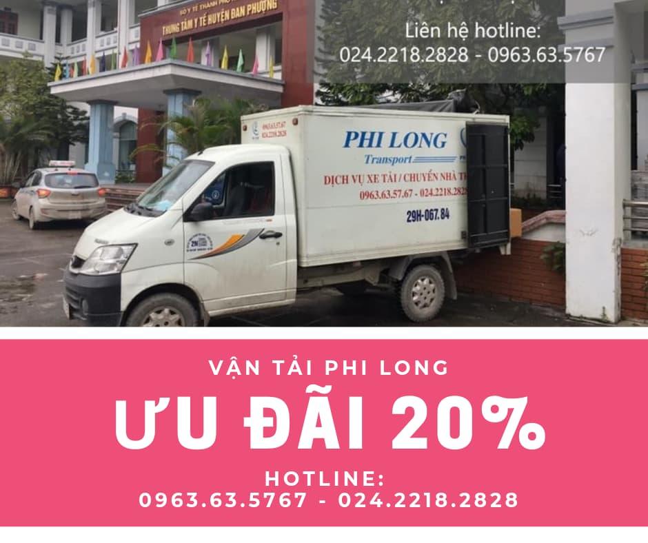 Dịch vụ chở hàng thuê Phi Long tại phố Trần Đăng Ninh