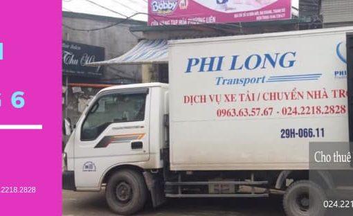 Dịch vụ chở hàng thuê tại đường Nghi Tàm