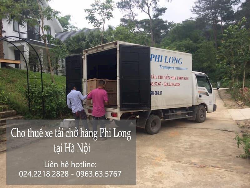 Dịch vụ chở hàng thuê tại phố Trần Nguyên Hãn