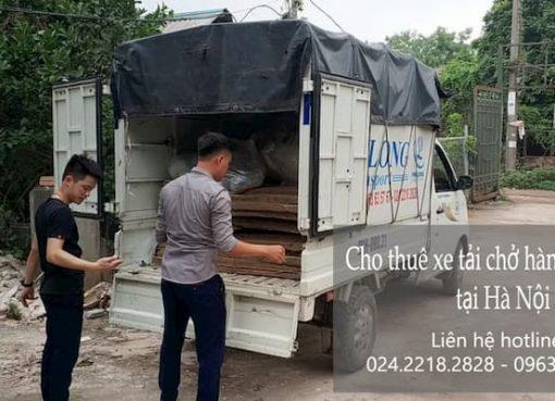 Dịch vụ chở hàng thuê tại phố Quảng Khánh