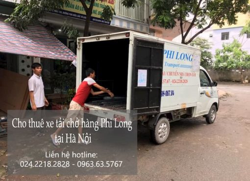Dịch vụ chở hàng thuê Phi Long tại phố Đức Thắng