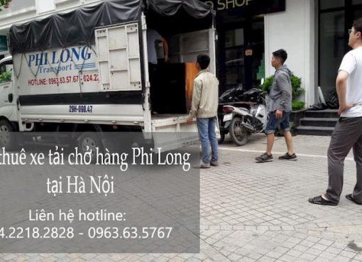 Chở hàng thuê Phi Long tại phố Linh Đường