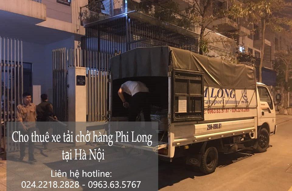 Dịch vụ chở hàng thuê Phi Long tại phố Trần Hữu Dực
