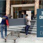 Chở hàng thuê Phi Long tại phố Đức Giang