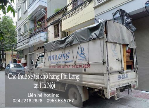 Dịch vụ chở hàng thuê Phi Long tại phố Thúy Linh