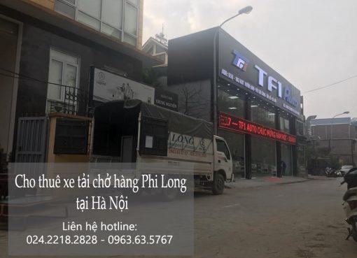 Dịch vụ chở hàng thuê Phi Long tại phố Hoàng Như Tiếp