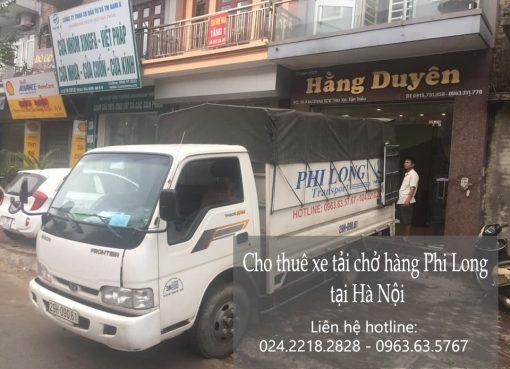 Dịch vụ chở hàng thuê Phi Long tại phố Đàm Quang Trung.