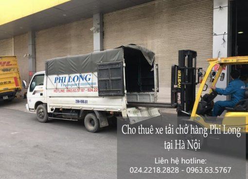 Dịch vụ chở hàng thuê Phi Long ở phố Chính Kinh