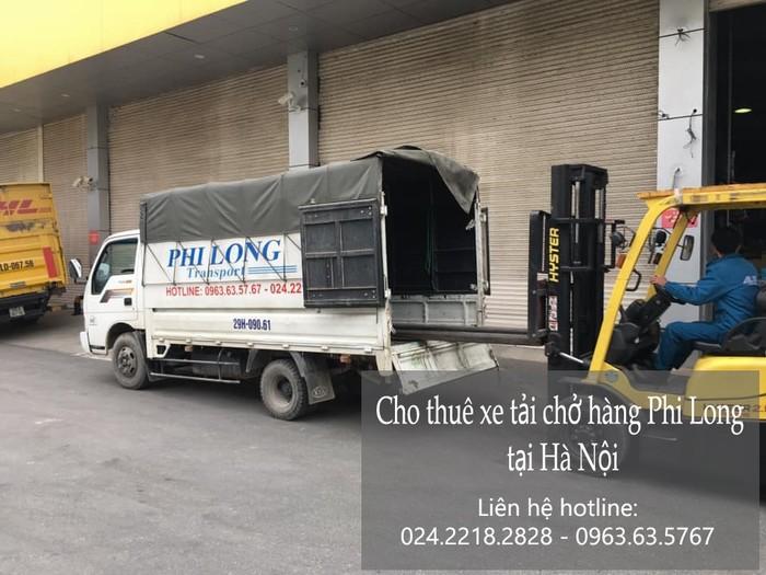 Dịch vụ chở hàng thuê Phi Long ở phố Đặng Văn Tập