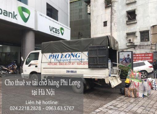 Chở hàng thuê Phi Long tại phố Hà Huy Tập