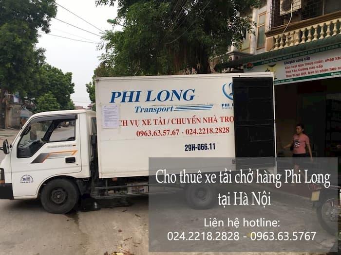 Dịch vụ chở hàng thuê tại phố Tương Mai